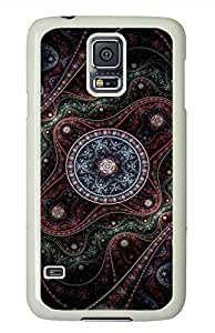 Ancient Patterns PC White Hard Case Cover Skin For Samsung Galaxy S5 I9600 by runtopwell