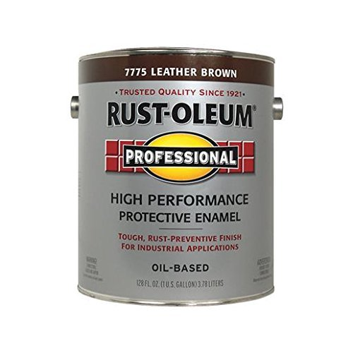 RUST-OLEUM 242250 Professional Gallon Gloss Leather Brown Protective Enamel by Rust-Oleum