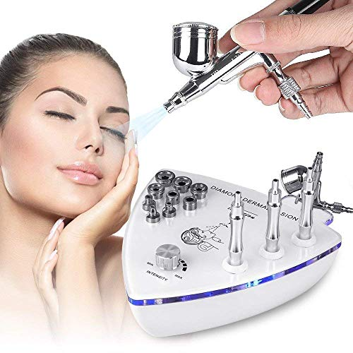 2 in1 Professional Diamond Microdermabrasion Dermabrasion Machine Facial Care Skin Equipment Water Spray Exfoliation Beauty Machine For Removal Wrinkle for Home Use M from MYSWEETY