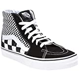 Vans Mens U SK8 Hi Mix Checker Black True White Size 5