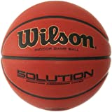 Wilson B0676X Solution Official Basketball, Orange, Size 5