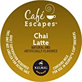 k cup 1 2 caf - Keurig, Cafe Escapes, Chai Latte, K-Cup packs, 50 Count