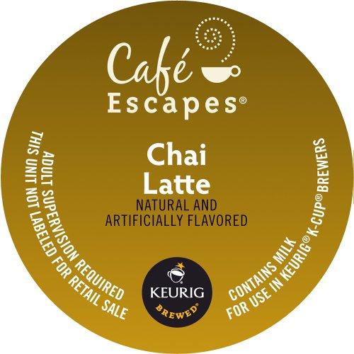 Keurig Escapes Latte K Cup packs