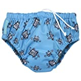 Charlie Banana® Swim Diaper & Training Pants - Robot Boy - S