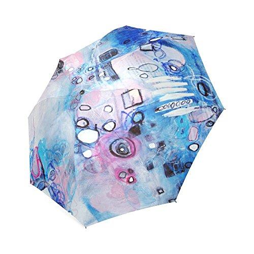 Rain Bubble Bath (Artsadd Fashion Umbrella Bubble Bath Foldable Sun Rain Travel Umbrella)