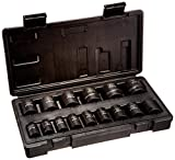 Blackhawk By Proto UW-1615S 6-Point Drive Impact Socket Set, 1/2-Inch,...
