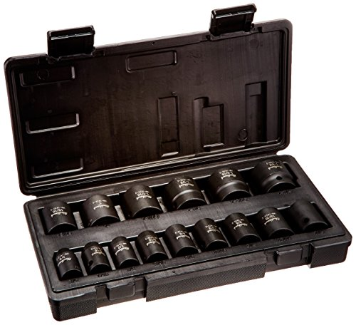 Blackhawk By Proto UW-1615S 6-Point Drive Impact Socket Set, 1/2-Inch, - Wrench Blackhawk Ratchet