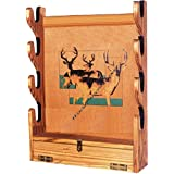 GUN RACK Paper Plans SO EASY BEGINNERS LOOK LIKE EXPERTS Build Your Own SAN ANGELO WALL STYLE TO HOLD RIFLES Using This Step By Step DIY Patterns by WoodPatternExpert