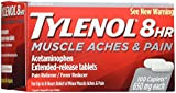 Tylenol 8 Hour Muscle Aches & Pain Caplets, 100 Count