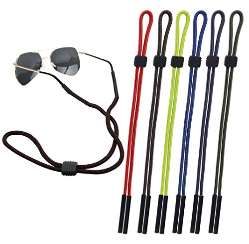 (CandyHome 6 Pcs Sunglass Glasses Holder Strap Eyewear Retainer Cord Lanyard)
