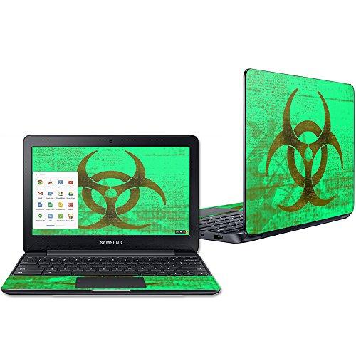 Mightyskins Protective Vinyl Skin Decal For Samsung Chromebook 3 11 6  Wrap Cover Sticker Skins Biohazard