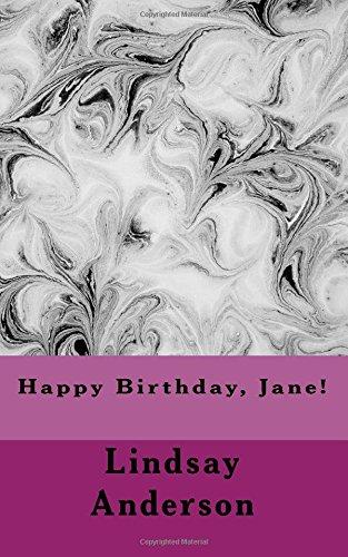 Happy Birthday, Jane! (Class of 2018) (Volume 18) ebook