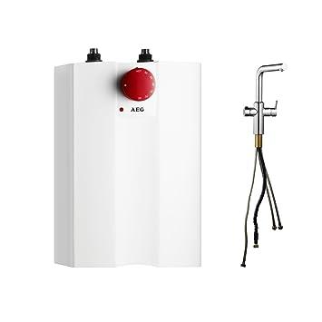 AEG Heißwassersystem inklusive Spezialarmatur mit Kindersicherung ...