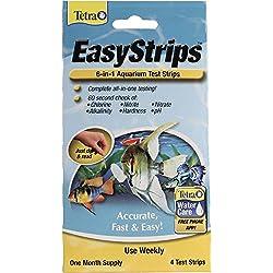 SPECTRUM BRANDS - TETRA 77358 972293 Easystrips 6-in-1 Aquarium Test Strips (4 Pack)