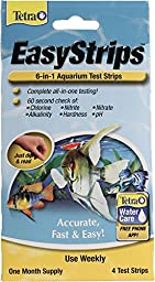 SPECTRUM BRANDS - TETRA 77358 972293 Easystrips 6-in-1 Aquarium Test Strips (4 Pack)