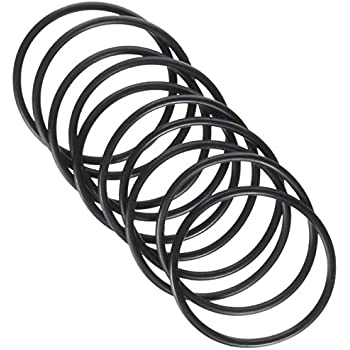 Uxcell 55mm Outside Dia 3mm Thickness Rubber Oil Filter Seal Gasket