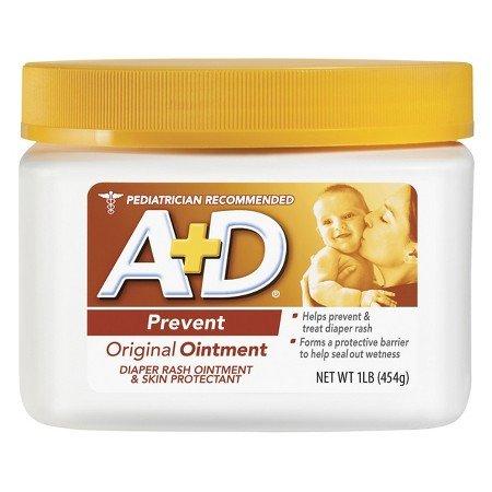 A+D Original Diaper Rash Ointment for use on Diaper Area - 16 oz.
