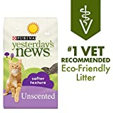 Yesterday's News Paper Cat Litter; Unscented & Softer Texture - 12 kg bag