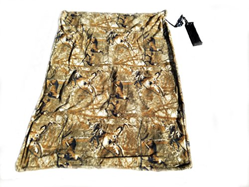 Electric Blanket - Battery Powered - Perfect for Deer Blind or Tree Stand, Football Games, or ANY Outdoor activity (Camo - Low Power)