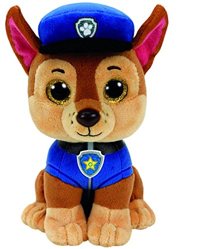 - Ty 41208 Paw Patrol - Chase with Glitter Eyes 15 cm