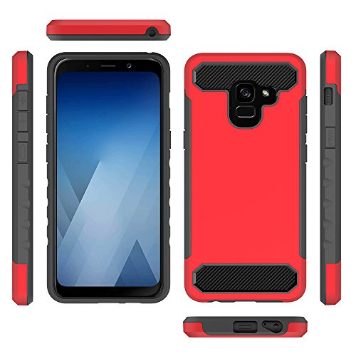 Amazon.com: AICEDA Samsung Galaxy A8 Plus 2018 Case ...