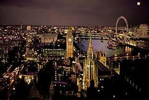 Enorme laminada/encapsulada de vista aérea ojo Westminster Col Póster 36 x 60,96 cm (x 91,5 61 cm)