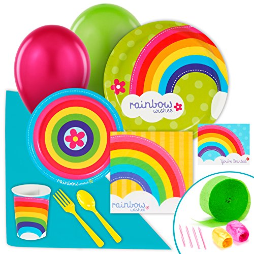Rainbow Wishes Value Party Pack ()