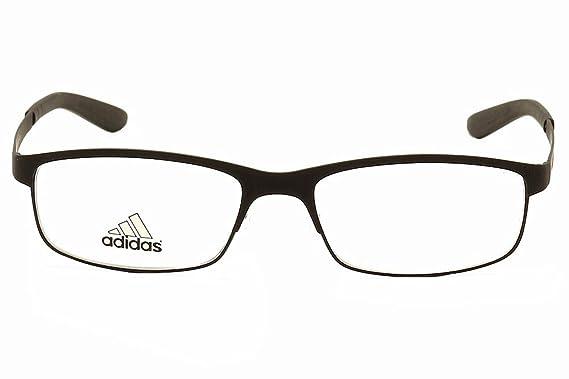 Amazon.com: Adidas Eyeglasses AF51 AF/51 50 6062 Black/Chill Blue ...