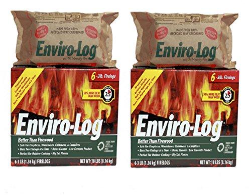 (Enviro-Log 6 Pack/3 lb. Firelog Case (2 Pack))