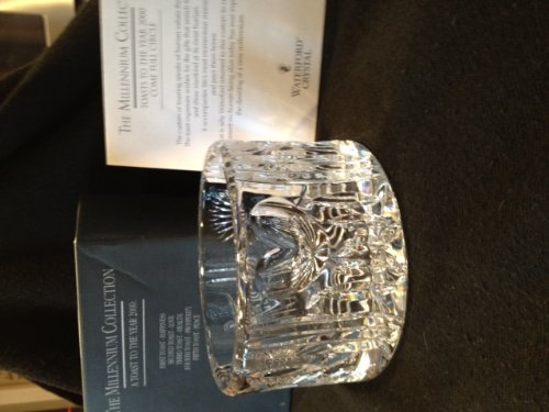 Waterford Crystal Millennium Series Champagne/Wine Bottle Coaster by Waterford