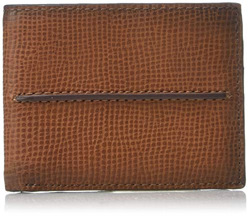 Relic by Fossil Men's Cash Leather Traveler Bifold Wallet,