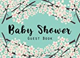 Baby Shower Guest Book: Baby Shower Guestbook and