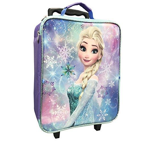 Disney Girls' Frozen 3pc Luggage Set, Purple