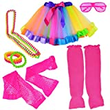 Miayon Kids Costume Accessories 1970s 1980s Fancy Outfits and Dress for Cosplay