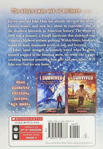 I Survived the Children's Blizzard, 1888 (I Survived #16) (16)