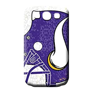 samsung galaxy s3 Scratch-proof mobile phone carrying skins For phone Fashion Design Collectibles minnesota vikings nfl football
