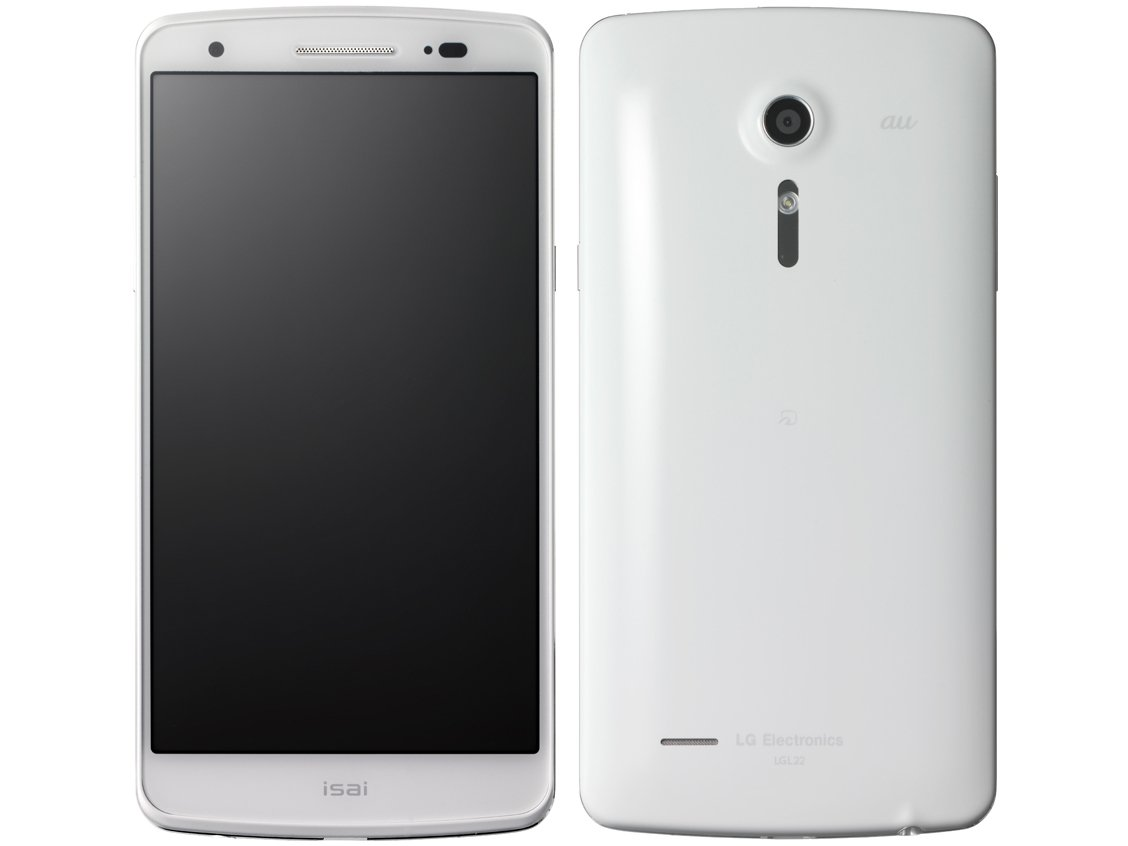 isai LGL22(ホワイト)