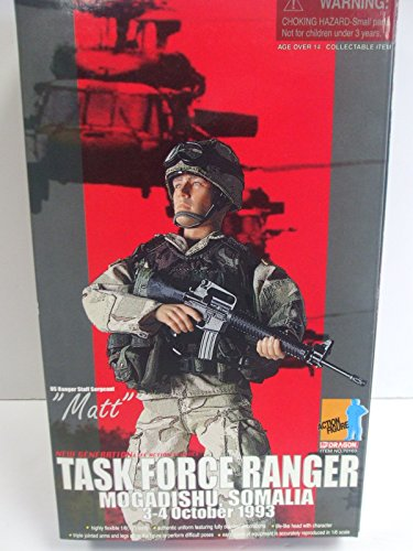 Dragon 1/6 Scale - US Army Ranger Staff Sergeant MATT Figure - Task Force Ranger - Mogadishu, Somalia 3-4 October (1/6 Scale Dragon)