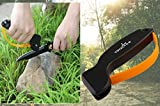 EDC Outdoor Knife Sharpener Sharpening Tool, Best Choice for Survival, Hunting, Gardening, Farming, Fishing or Camping Gear