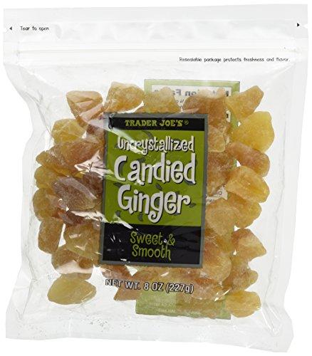 - Trader Joe's Uncrystallized Candied Ginger 8oz