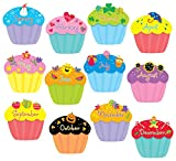 preschool birthday chart - Creative Teaching Press Cupcakes 6-Inch Designer Cut-Outs (1795)