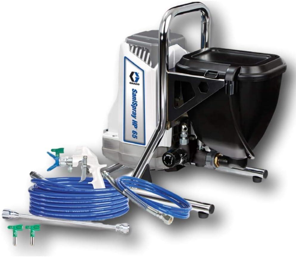 Graco Disinfecting Sprayer - SaniSpray HP 65 - Portable Hopper Sprayer - 25R792