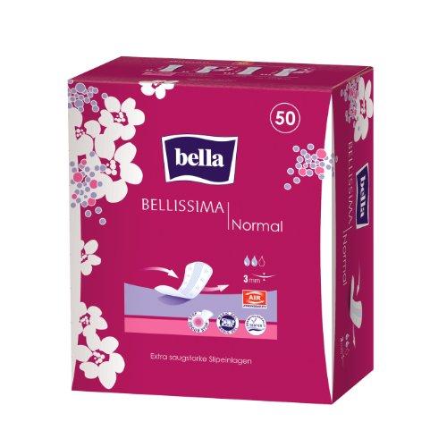 Bella Bellissima Slipeinlagen Normal, 5er Pack (5 x 50 Stück)