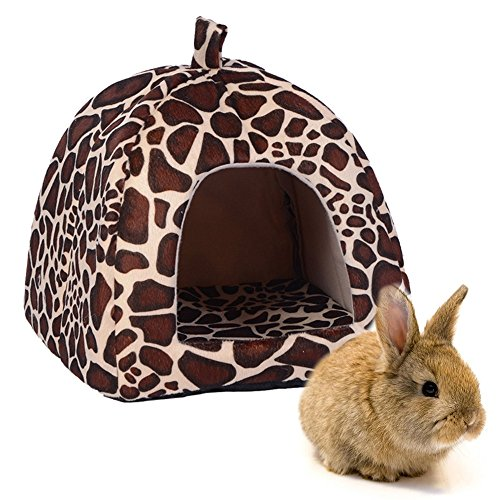 FLAdorepet Rabbit Guinea Pig Hamster House Bed Cute for sale  Delivered anywhere in USA