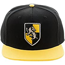 Harry Potter Hufflepuff Crest Snapback Hat