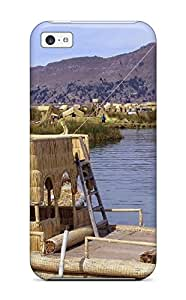 Case Cover Titicaca Lake Fashionable Case For Iphone 5c