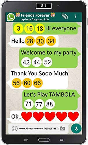Buy Whatsapp Printed Tambola Tickets Online at Low Prices in