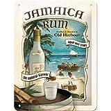 Nostalgic-Art 26167 Bier und Spirituosen Jamaica Rum, Blechschild, 15 x 20 cm