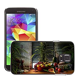 Hot Style Cell Phone PC Hard Case Cover // M00043938 fruit bowl fantasy artistic // Samsung Galaxy S5 i9600