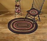 Park Designs Folk Art Braided Oval Rug – 32″ x 42″